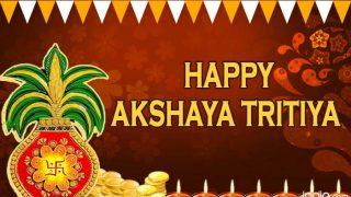 Akshaya Tritiya 2017 Wishes: Best SMS, WhatsApp Messages, Akha Teej Greetings, GIF in English, in Hindi and Marathi to send Happy Akshaya Tritiya messages!