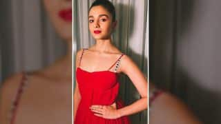 Alia Bhatt smoulders in red for the 7th Gr8! Women Awards in Dubai! View Pictures