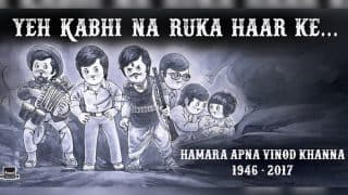 This tribute to Vinod Khanna by Amul is heartbreaking and heartwarming at the same time