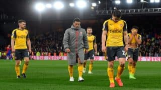 Arsene Wenger under pressure after Arsenal's crushing defeat to Crystal Palace