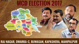 MCD election results 2017: BJP wins Raj Nagar, Dwarka-C and Mahipalpur wards; AAP wins Bijwasan