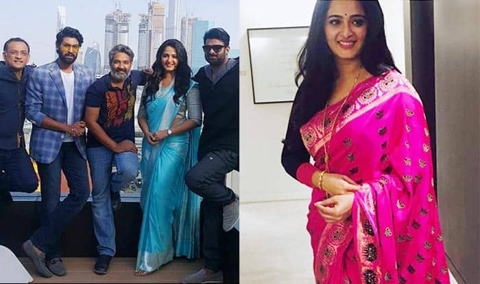 Baahubali 2 premiere in Dubai actress Anushka Shetty takes the city by a fashionable storm