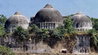 Babri Masjid Demolition Anniversary: Centre Asks States to Maintain Communal Harmony