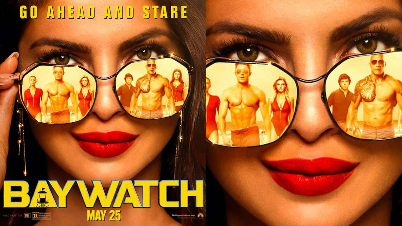 Priyanka Chopra puts the sexy in scary in the latest Baywatch poster