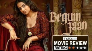 Begum Jaan movie review: Vidya Balan's strong performance is not enough to save this melodramatic partition drama