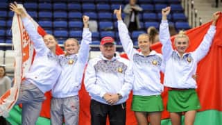 Fed Cup: Belarus upset Switzerland to enter final