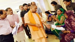 Yogi meets Dalit gang-rape victim, directs cops to nab accused at earliest