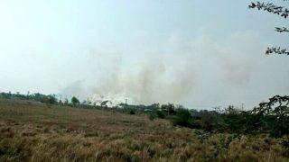 Fire engulfs Jayalalithaa's Siruthavur bungalow outside Chennai