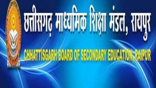 Chhattisgarh Board 12th Result 2017 Declared, check CGBSE higher secondary results here