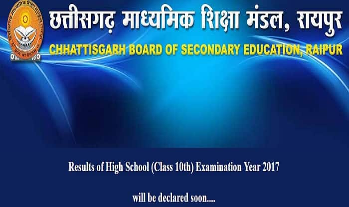 CGBSE Declares Class 10 Board Result; Check At Cgbse