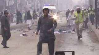 Pakistan: Suicide attack in Lahore; 4 soldiers among 6 killed
