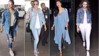 Celeb Airport Style This Week: Alia Bhatt, Sonakshi Sinha, Athiya Shetty, Parineeti Chopra & Adah Sharma slay the denim trend! View Pictures