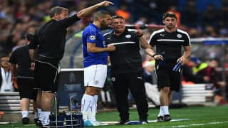 Leicester City to suffer a UEFA fine for staff's 'improper conduct'