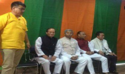 Manipur: Four Congress MLAs join BJP