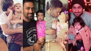 Harbhajan Singh-Hinaya Heer, Jonty Rhodes-India, MS Dhoni-Ziva & 5 other father-daughter jodis in cricketing world! See cute pictures