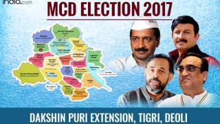 MCD Election Results 2017: AAP wins Dakshin Puri, Tigri; BJP bags Deoli, Sangam Vihar-B