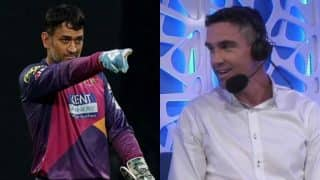 MS Dhoni burns Kevin Pietersen with savage reply to the English cricketer's 'I am a better golfer than him' comment!
