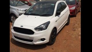 Ford Figo S variant spotted at dealership; India launch imminent