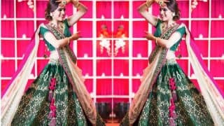 This Ludhiana bride embroidered her love story on her lehenga and the result was simply stunning!