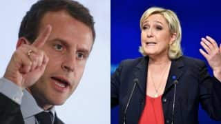 French Presidential Elections 2017: Emmanuel Macron takes early lead, Marine Le Pen trails; both likely to clear first round