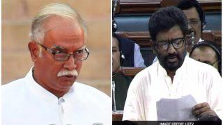 संसद में शिवसेना सांसदों की विमानन मंत्री से धक्का-मुक्की, मुंबई से विमान ना उड़ने देने की धमकी!