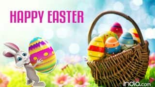 Easter 2017 Wishes: Best Quotes, SMS, WhatsApp GIF image Messages, Poems, Facebook Status to send Happy Easter greetings!
