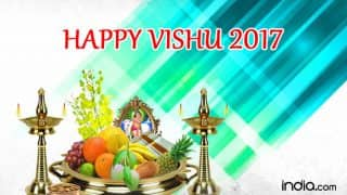 Vishu 2017 Wishes: Best Quotes, SMS, WhatsApp GIF image Messages to send Happy Vishu greetings!