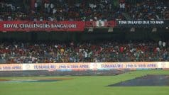 Royal Challengers Bangalore vs Sunrisers Hyderabad, IPL 2017 Highlights: Match abandoned due to rain