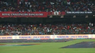 Royal Challengers Bangalore vs Sunrisers Hyderabad, IPL 2017 Highlights: Match abandoned due to rain