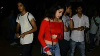 Star kids Jhanvi Kapoor and Ishaan Khatter spotted together!