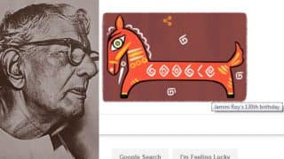 Jamini Roy honoured by Google Doodle, famous Indian painter remembered on his 130th birth anniversary!