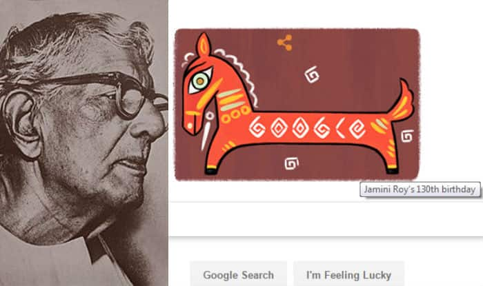 Google honours artist Jamini Roy with doodle