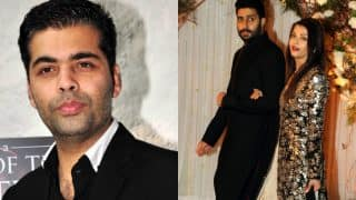 Karan Johar congratulates Abhishek Bachchan & Aishwarya Rai Bachchan for a decade of marital bliss
