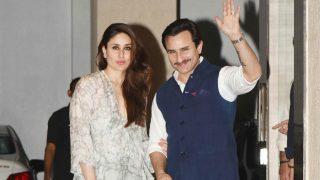 Check out Kareena Kapoor Khan-Saif Ali Khan's stylish avatar at Babita Kapoor's birthday bash! See HQ Pics