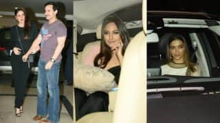 Photos: Shah Rukh Khan, Kareena Kapoor Khan, Sonakshi Sinha, Deepika Padukone at Karan Johar's party