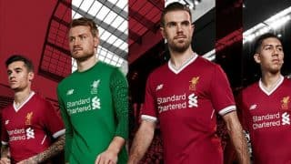Liverpool FC unveil new 2017-18 home kit for 125th anniversary season