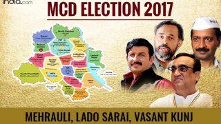 MCD Election results 2017: BJP wins Mehrauli and Vasant Kunj wards; AAP wins Lado Sarai ward