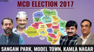 MCD Election results 2017: BJP wins Sangam Park and Kamla Nagar ward; AAP bags Model Town