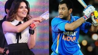 MS Dhoni scores high on Sunny Leone's favourite cricketers' list! Former XXX star chooses Dhoni over Virat Kohli & Sachin Tendulkar!