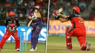 IPL 2017: पुणे ने बैंगलोर को दी शिकस्त, तस्वीरों में देखिए मैच के खास पल
