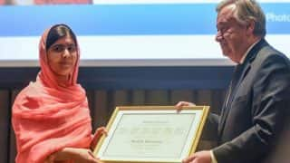 Malala Yousafzai becomes the youngest UN Messenger of Peace, will focus on girls education