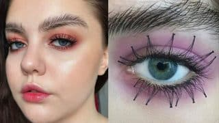 Reverse lashes and feather eyebrows: Quirky eye makeup trends that are creating a stir!