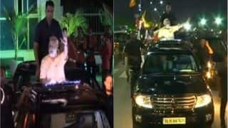 Gujarat: PM Narendra Modi's massive roadshow concludes at Circuit House, Surat