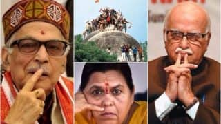 Babri Masjid demolition case: CBI court defers framing of charges against LK Advani, Uma Bharti and MM Joshi
