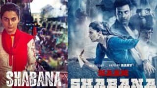 Naam Shabana full movie free download online and mixed reviews affect Taapsee Pannu-Akshay Kumar starrer film's box office collections