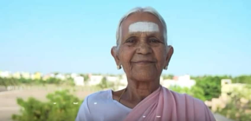 Viral video of 98-year-old south Indian woman doing yoga ...