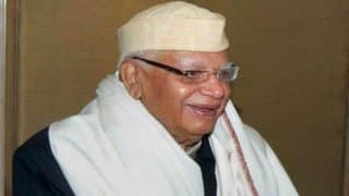 Narayan Dutt Tiwari, former Uttar Pradesh Chief Minister admitted to hospital following illness