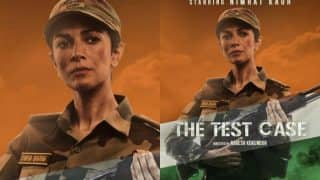 The Test Case first look: Nimrat Kaur's intense look as a lady solider will floor you!