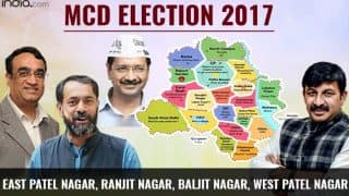 MCD Election Results 2017: BJP wins East Patel Nagar, Ranjit Nagar, Baljit Nagar and West Patel Nagar wards