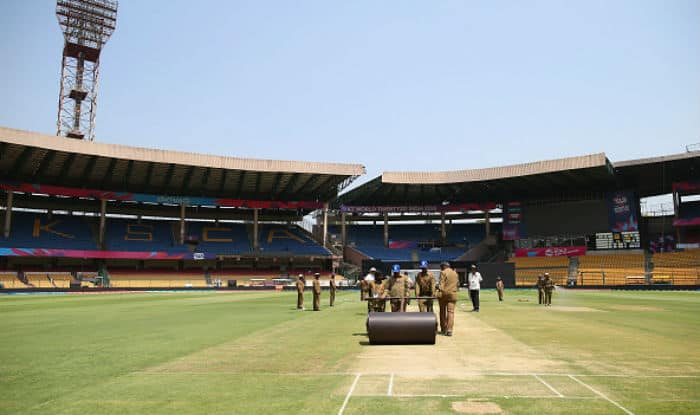 Image result for m chinnaswamy stadium pitch report